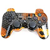 MOSTOP PS3 Controller Wireless Bluetooth Six Axis Game Controller for Playstation 3 PS3 (Snakeskin)
