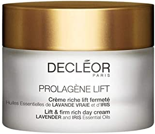 Decleor Prolagene Lift and Firm Rich Day Cream for Dry Skin, 1.7 Fluid Ounce