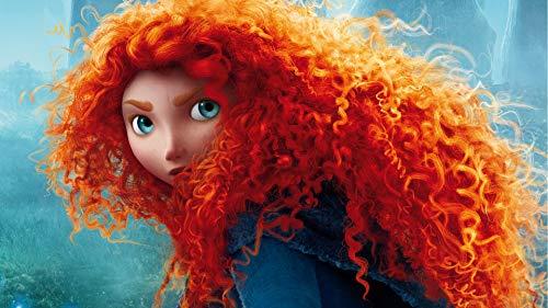 Princess Merida Poster/Brave redhead animation