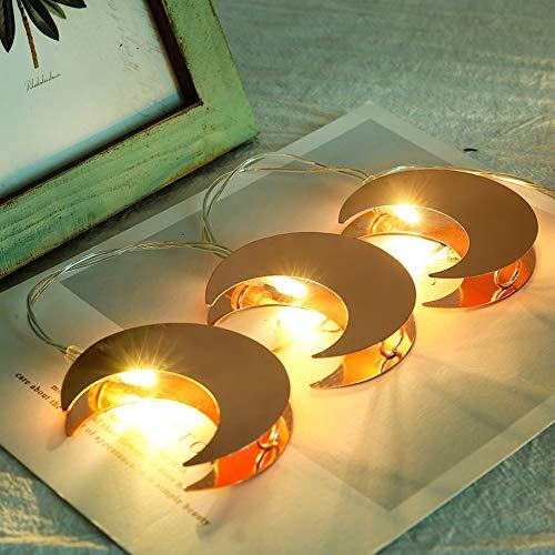 【𝐂𝐡𝐫𝐢𝐬𝐭𝐦𝐚𝐬 𝐆𝐢𝐟𝐭】Warmweiß Energiesparende Lampe Lichterkette, 1,2M 10LED Metall Rose Solar Lichterkette, für Rasen Zaun Dachterrasse Garten Hof Veranda Baum Hochzeit Weihnachten(Warm White