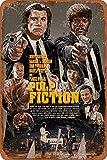 Cimily Pulp Fiction Poster Vintage Blechschilder Zinn