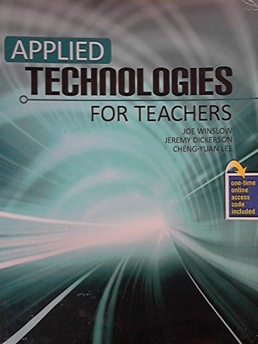 Applied Technologies For Teachers Text