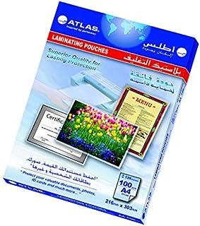 حقيبة تصفيح من اطلس A4 - 125 ميكروفون