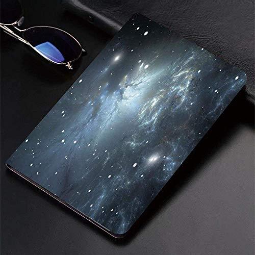 Funda para iPad (24.638, modelo 2018/2017, 6.a / 5.a generación) Funda inteligente ultradelgada y ligera, constelación, espacio infinito con nebulosa y estrellas Universal Energy Cosmolo, fundas intel