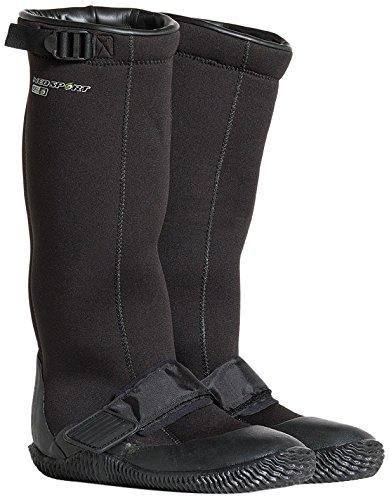 NeoSport Wetsuits Explorer 5mm Explorer Boot, Black, 12 - Water Shoes, Surfing &...