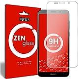 ZenGlass Flexible Glas-Folie kompatibel mit Huawei Y5 2018 Panzerfolie I Bildschirm-Schutzfolie 9H