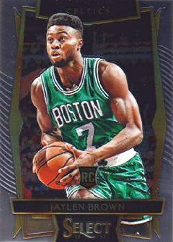 2016-17 Select Basketball Concourse #33 Jaylen Brown Boston Celtics RC Rookie Official Panini America NBA Trading Card