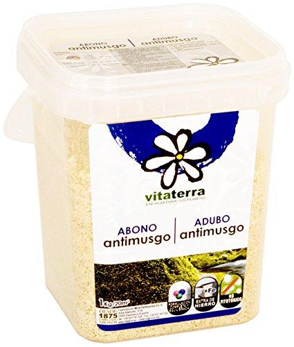 Vitaterra Abono Césped Antimusgo 1 kg, 27411