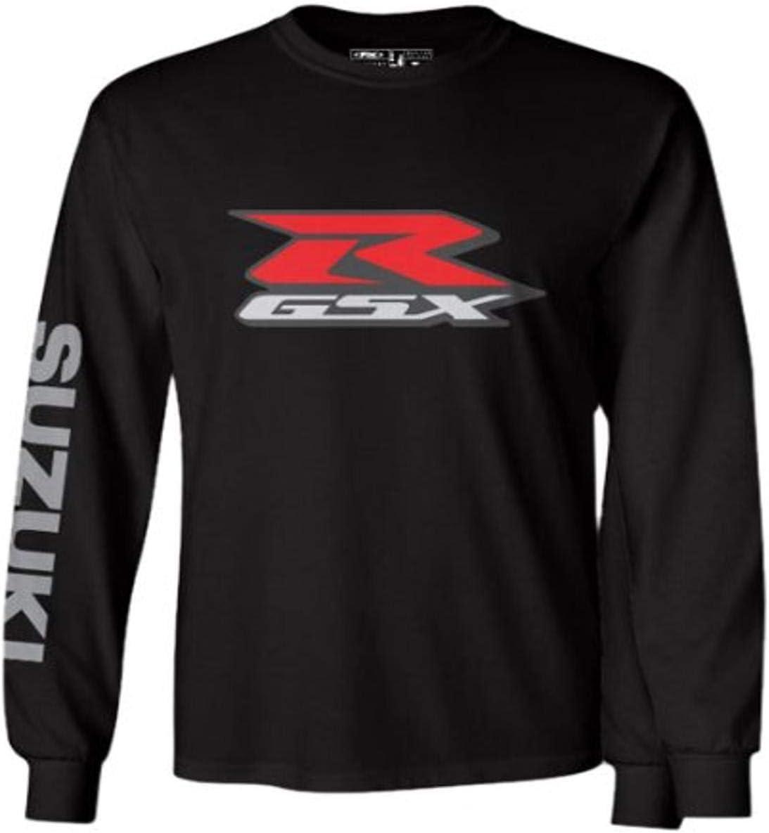 Black, X-Large Factory Effex 17-87416 SUZUKI Long Sleeve T-Shirt