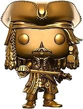 Funko Pop Vinyl Pirates of The Caribbean Captain Jack Sparrow Gold