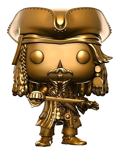 Funko- Pirates of The Caribbean 5-Jack Gold Sparrow Figurina, Multicolor, 13842