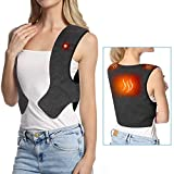 Doact Heated Vest, Washable Heat Jacket Cloth for Body Warmer in Cold Winter Outdoor Activities Hunting Camping Hiking Skiing, Fits Men Women L/XL Father's Day Gift