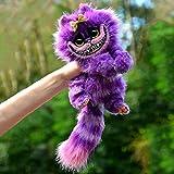 YYDS Cheshire Cat - Alice nel Paese delle Meraviglie? 12? Cheshire Cat Peluche per Camera da Letto Soggiorno Decorazione Regali per Bambini (Viola)