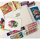 Vegan Sweets Gift Box, Vegetarian and Vegan Candy Hamper (Large)