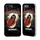 Head Case Designs Ufficiale Motorhead Bomber Arte Chiave Cover Fender Argentata Compatibile con Apple iPhone 7 Plus/iPhone 8 Plus
