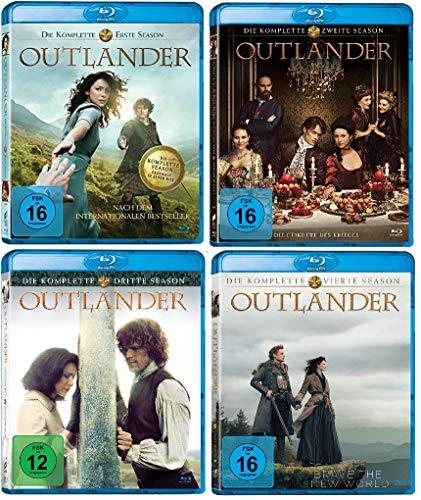 Outlander - Die komplette Season / Staffel 1-4 (1+2+3+4) im Set - Deutsche Originalware [21 Blu-rays]