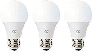 Nedis Bombillas LED Inteligentes co n Wi-Fi Blanco Calido a