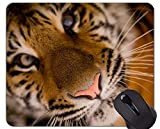 Yanteng La Alfombrilla de ratón Tiger de la Mariposa, la Alfombrilla de ratón Tiger Office