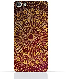 OPPO F3 TPU Silicone Case With Floral Pattern 1201