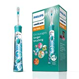 Philips Sonicare For Kids Electric <span class='highlight'>Toothbrush</span> with 1 Brush Head, 2 Modes and 8 Stickers for Customisation - HX6311/17