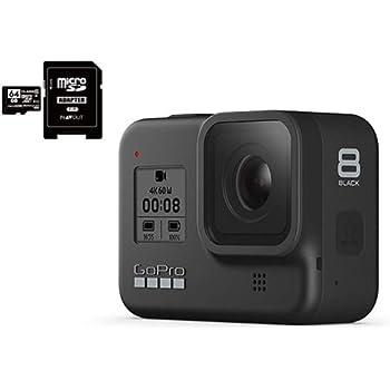 GoPro HERO8 Black ゴープロ ヒーロー8 ブラック ウェアラブル アクション カメラ CHDHX-801 + マイクロ SD カード 64GB セット