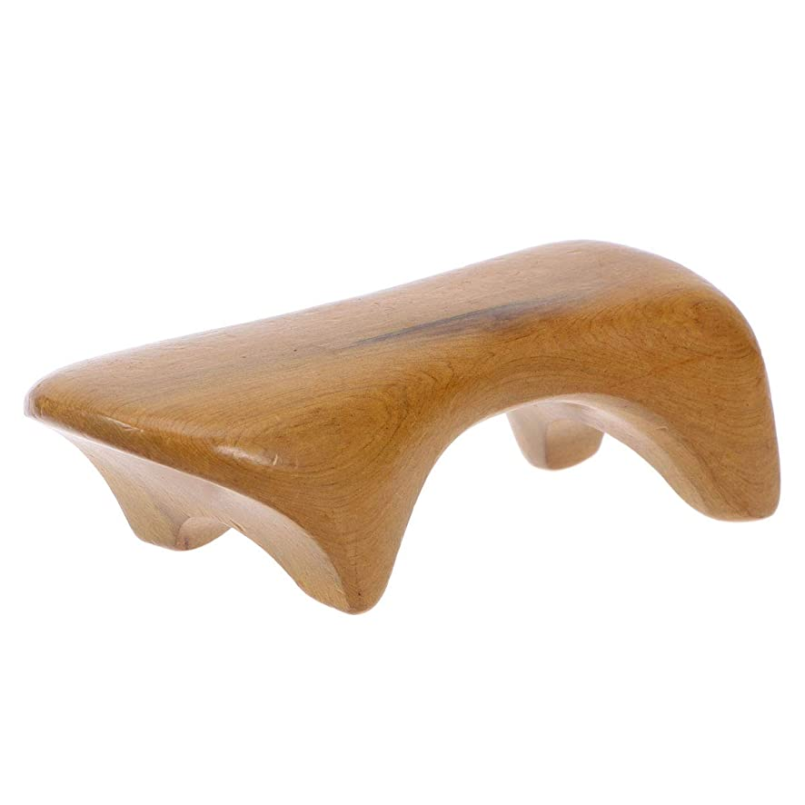 冷ややかな構成起きて完全木製のための木の背部マッサージャーの手持ち型のBadyのマッサージャーの多機能のマッサージャー