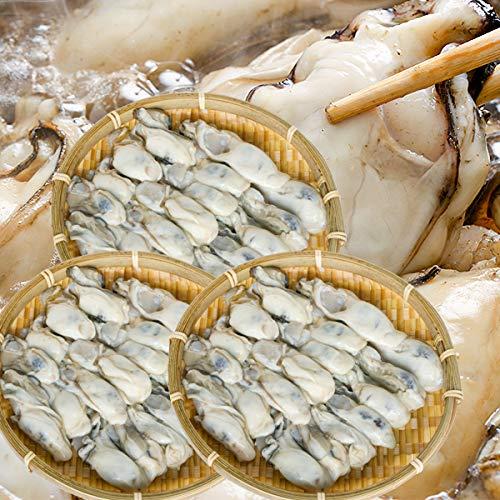 牡蠣 冷凍 カキ かき 安心・安全ニッスイの牡蠣 冷凍かき 1kg×3(3kg) 3キロ[日本水産]