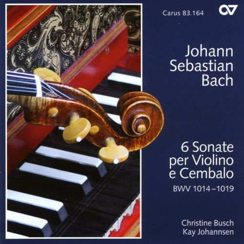 Bach : Six sonates pour violon et clavecin BWV 1014-1019