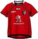 BLK Away Stade Toulousain Maillot Garçon, Rouge, FR (Taille Fabricant : 16 Ans)