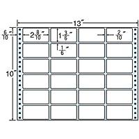 東洋印刷 タックフォームラベル 13インチ ×10インチ 24面付(1ケース500折) M13E