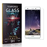 The Grafu Screen Protector for Huawei P8 Lite 2015 / Huawei P8 Lite 2016, 9H Hardness, High Transparency Tempered Glass Screen Protector Compatible with Huawei P8 Lite 2015/2016, 2 Pack