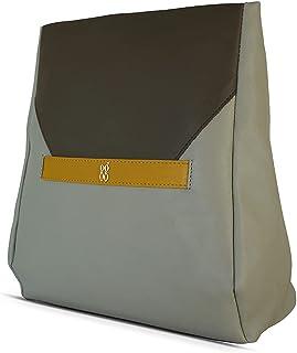 Baggit Autumn-Winter 2020 Faux Leather Women's Backpack Handbag (Green) (Slity)