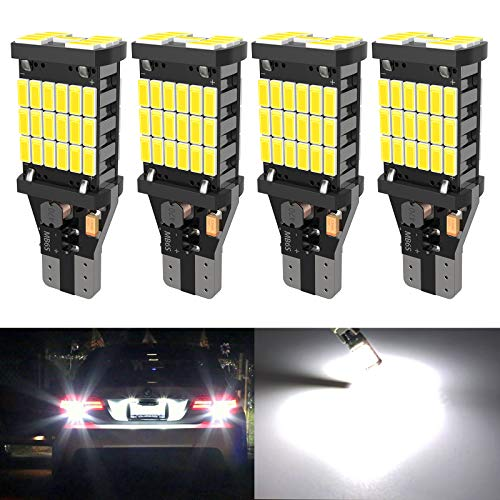 4PCS Super Bright 921 T15 912 W16W LED Reverse Lights, Error Free 904 Led 921 Bulbs 45SMD-4014...