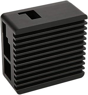 NanoPi R2S用の放熱マザーボード保護シェルアクセサリフィット、アルミニウム合金製、冷却シェルルータヒートシンク冷却シェル