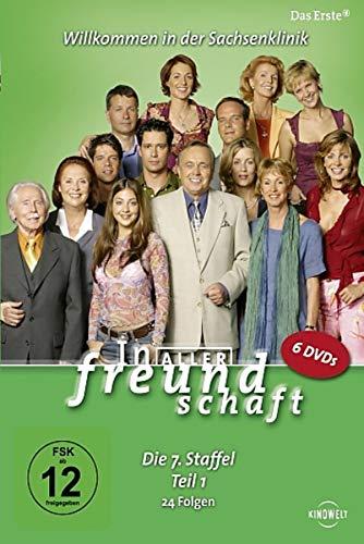 In aller Freundschaft - Die 07. Staffel, Teil 1, 24 Folgen [6 DVDs]