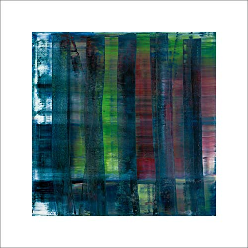 Gerhard Richter Abstract Painting, 1992 Poster Bild Kunstdruck 70x70cm