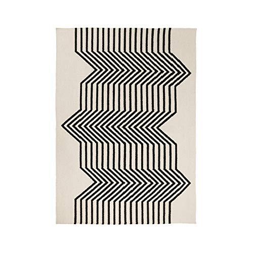 MADURA - Tapis de Sol LIV - Blanc Et Noir - 60x110 cm