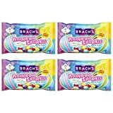 Brach Jelly Bird Eggs Limited Edition Easter Rainbow Sparkle Jelly Beans Candy - Pack of 4 Bags - 13 oz Per Bag - 52 oz Total - Jellybeans - Cherry, Orange, Lemon, Lime, Blue Raspberry, and Grape