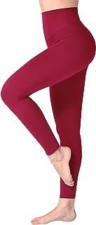 SINOPHANT Leggins Vita Alta Donna, Leggings Donna Fitness Pantaloni Yoga Controllo della Pancia Opaco Elastici Morbido per...