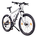 NCM Prague, E-Bike Mountainbike 36V 13Ah 468Wh, 26', weiß