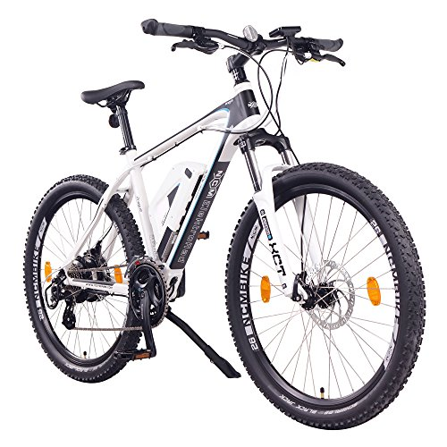 "NCM EPAC, Prague, E-Bike Mountainbike 36V 13Ah 468Wh, 26"", weiß"