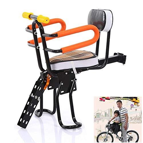 ZXCETZY Mountainbike Vouwfiets Baby Stoel Fiets Fiets Kinderstoel Voorstoel Snelle release