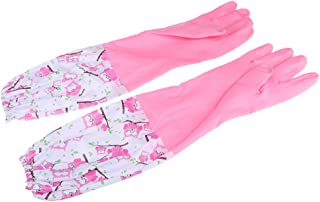 IPOTCH Gloves Dishes Waterproof Gloves Silicone Gloves Cleaning Brush Resistant, Cleaning, Washing Tableware & Car