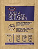 Urnex Original Urn and Brewer Cleaner - 100 (1 Ounce Packets) - Professional Coffee Equipment Cleaner for Air Pot Glass Bowl Server Stainless Steel Plastic Glass