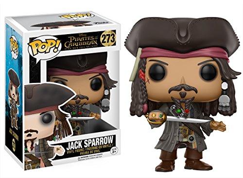 Funko Pop!- Jack Sparrow Figura de Vinilo, colección de Pop, seria Pirates 5 (12803) 2