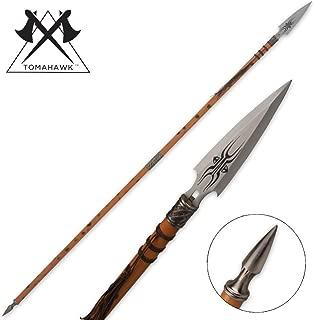 Tomahawk African Wooden Warrior Spear