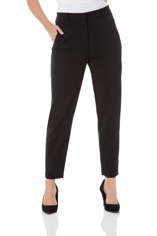 Femme Pantalon Jambe Droite Slim - Bureau Business Stretch Confortable Simple Uni Skinny Casual Elegant Classe