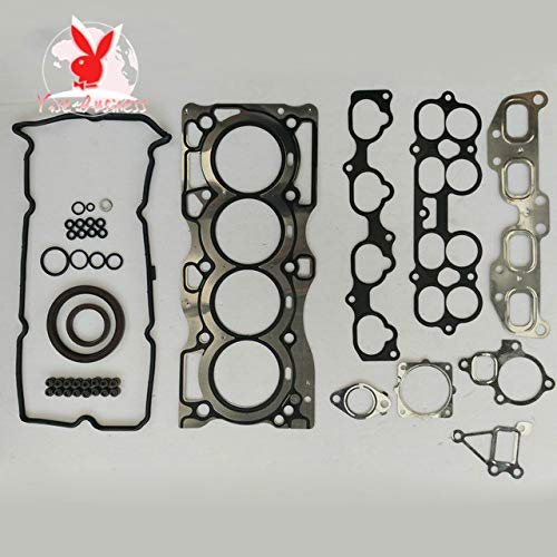 yise-P850 New QR25DE QR25 fits for NISSAN X-TRAIL (T30) 2.5 Full Set Engine Rebuild Kits Engine Gasket Engine seal Gasket 10101-AE226 50240800