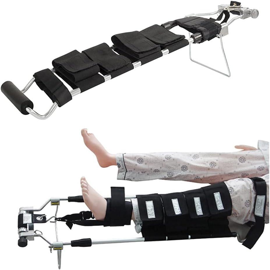 XBSXP Ortesis de Rodilla Ajustable, Rodillera con bisagras con Correa para el Hombro Ortesis de Pierna Soporte de recuperación para rehabilitación ortopédica posoperatoria (tamaño: Adult