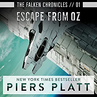 Escape from Oz     The Falken Chronicles, Book 1              By:                                                                                                                                 Piers Platt                               Narrated by:                                                                                                                                 James Fouhey                      Length: 8 hrs and 29 mins     21 ratings     Overall 4.3